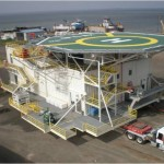 Modular ocean platforms